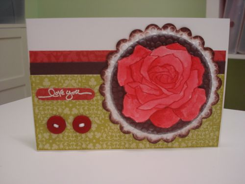 Red fifth avenue card