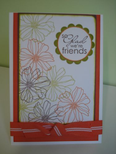 Tangerine fifth avenue card