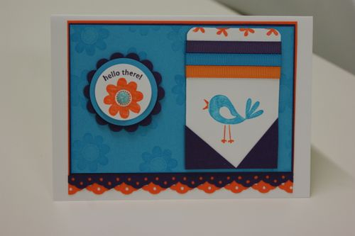 Bright cheep talk card