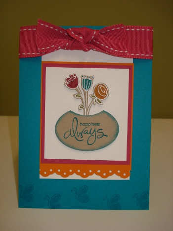 TEAL,ROSE SAB CARD