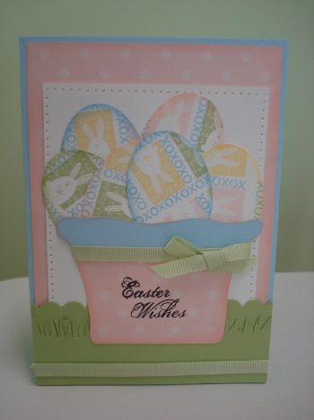 Easter card - forum blog hop