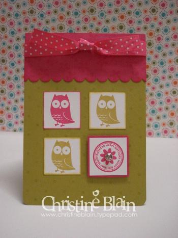 Elise's bday card