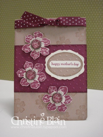 APRIL BLOG HOP CARD MOTHERS DAY