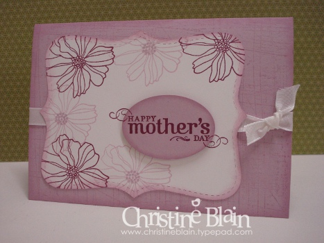 Fifth avenue floral mother's day card