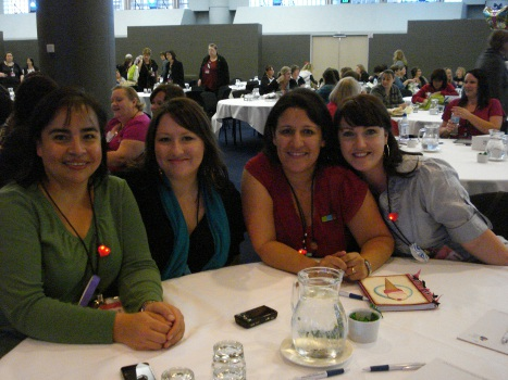 Convention - Carolina, Jess, Ange, Bec
