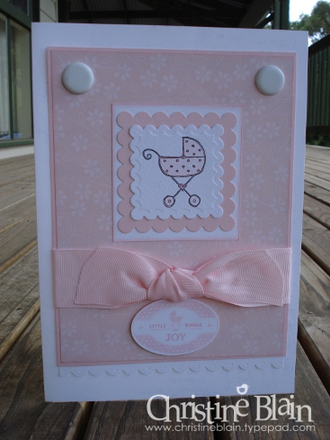 BABY CARD FOR MATT & JO